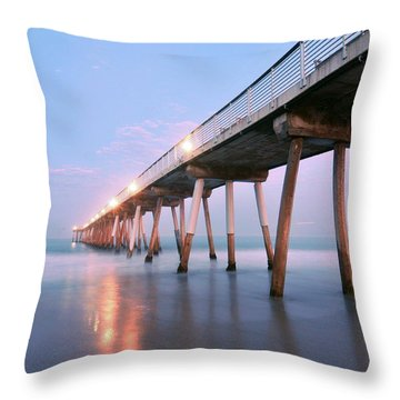 Infinite Bridge Throw Pillow
