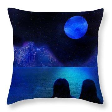 Throw Pillow featuring the photograph Infinite Dreams by Bernd Hau