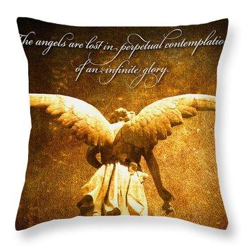 Infinite Glory Throw Pillow
