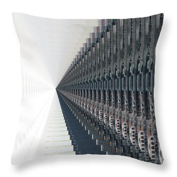 Infinite Possibilities _singapore Throw Pillow by Scott Cameron