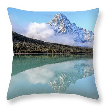 Infinite Power Throw Pillow