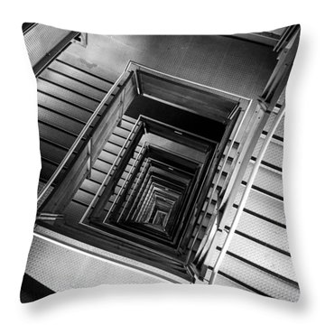 Infinite Well Throw Pillow