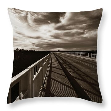 Throw Pillow featuring the photograph Infinity by Marilyn Hunt