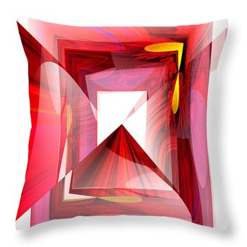 Infinity Tunnel  Throw Pillow