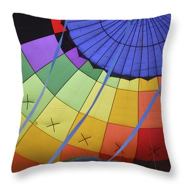 Inflation Time Throw Pillow