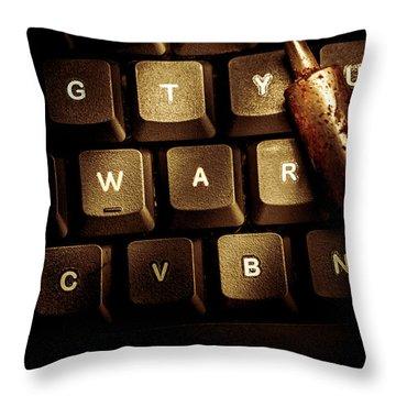 Virus Throw Pillows