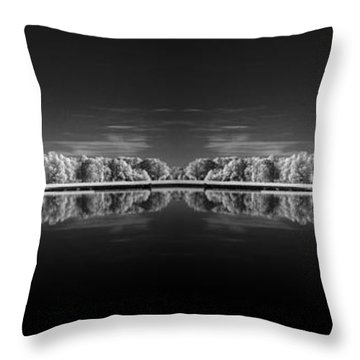 Infrared Reflections Throw Pillow