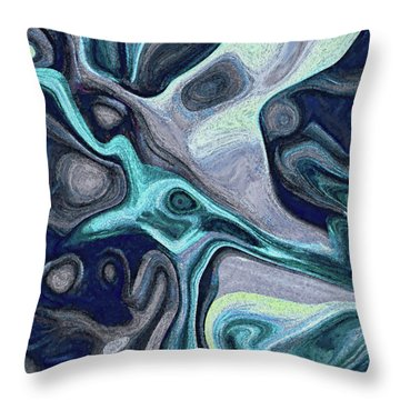 Inhabited Space #5 Throw Pillow