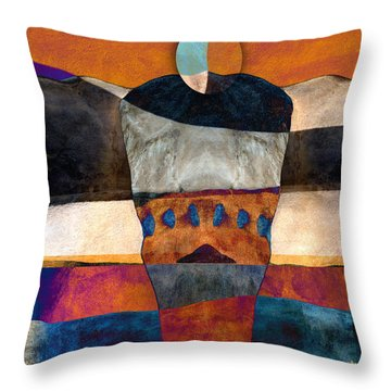 Inherent Number 2 Throw Pillow