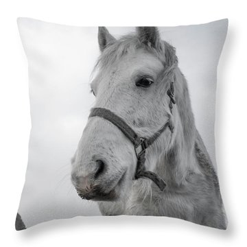 Inis Mor Old Timer Throw Pillow