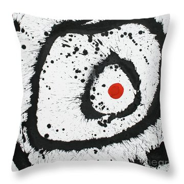 Ink Painting En Triomphe #1  Throw Pillow