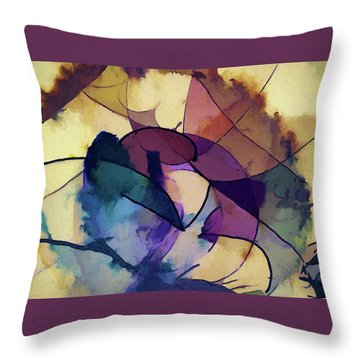 Ink Pie Throw Pillow