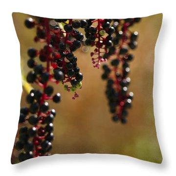 Inkberry Throw Pillow