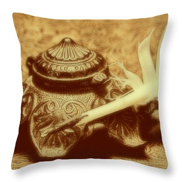 Inkwell I Throw Pillow