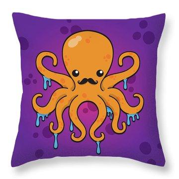 Inky Throw Pillow