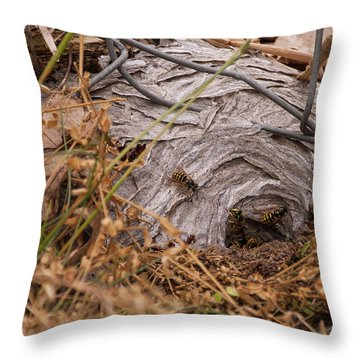 Inl-14 Throw Pillow