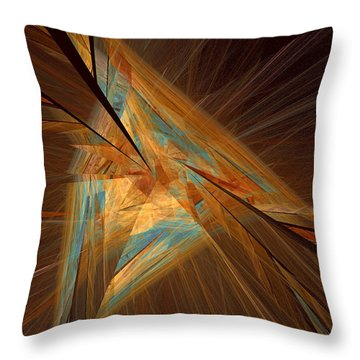 Inlaid Throw Pillow