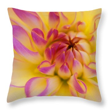 Inner Beauty Throw Pillow by Kathy Yates