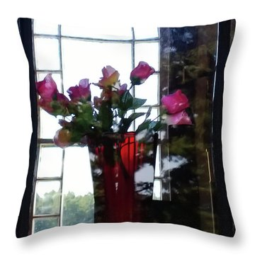 Throw Pillow featuring the photograph Inner Beauty by Tom Vaughan