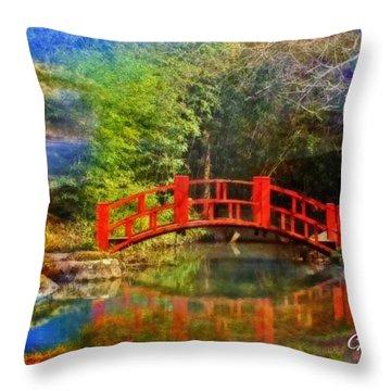 Inner Bridges Throw Pillow