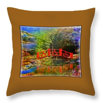 Inner Bridges Throw Pillow