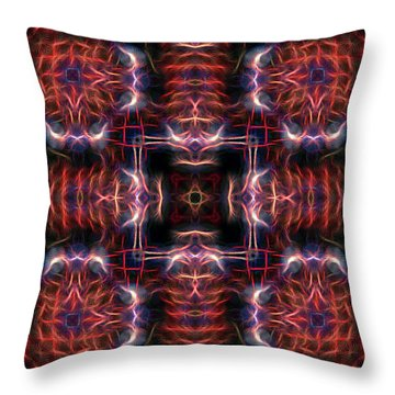 Inner Compass 3 Throw Pillow by William Horden