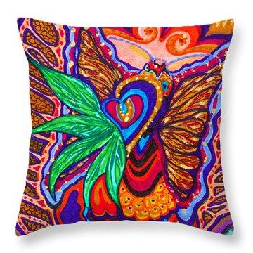 Inner Heart - Viii Throw Pillow