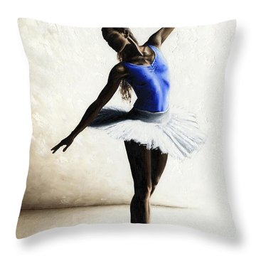 Inner Peace Throw Pillow by Richard Young