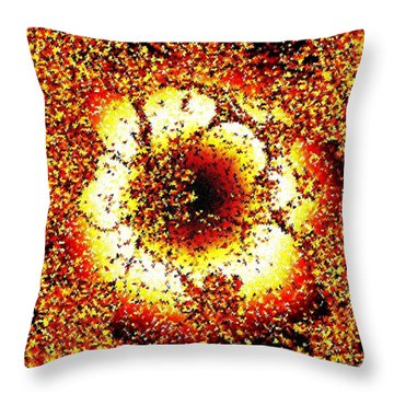 Inner Radiance Throw Pillow
