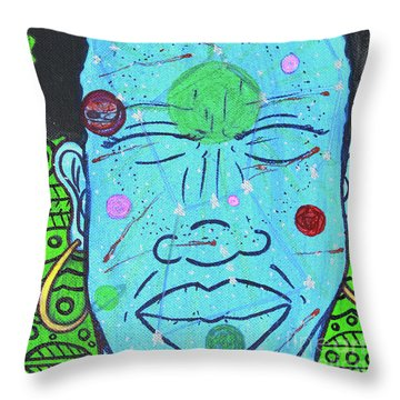Inner-stellar Space Throw Pillow