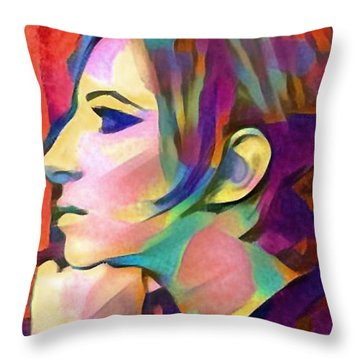 Inner Vision Throw Pillow