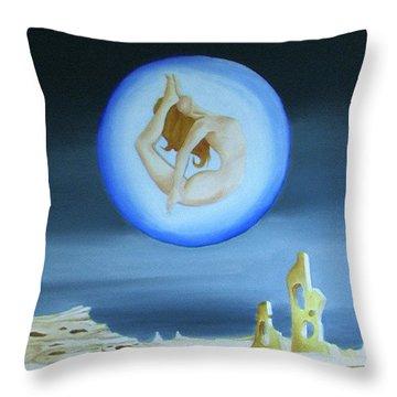 Inner World Throw Pillow