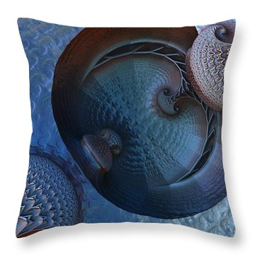 Innermost Reflections Throw Pillow