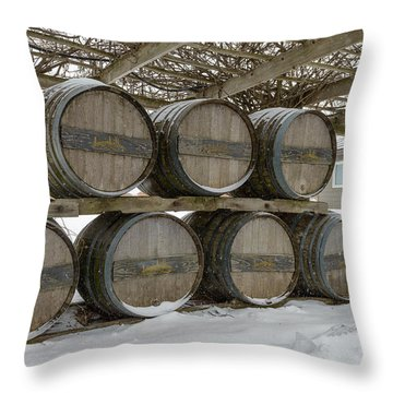Niagara On The Lakes Inniskillin Winery Throw Pillow