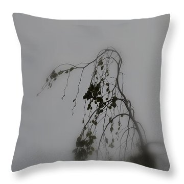 Innner  Mist Throw Pillow