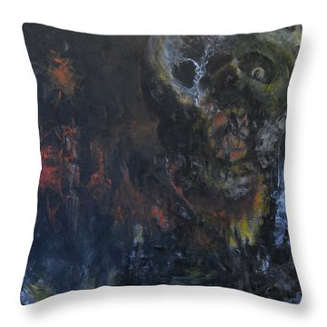 Innocence Lost Throw Pillow by Christophe Ennis