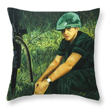 Innocence Lost  Throw Pillow by Terry Honstead