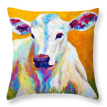 Cattle Throw Pillows