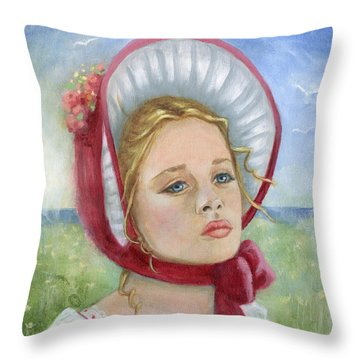 Innocence Throw Pillow by Terry Webb Harshman