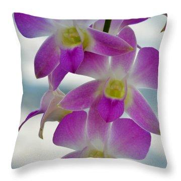 Innocent Beauties Throw Pillow