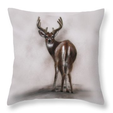 Innocent Beauty Throw Pillow
