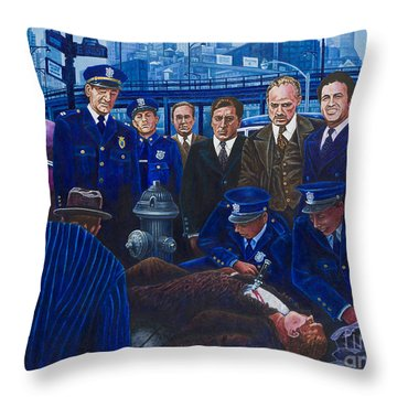 Innocent Bystanders Throw Pillow