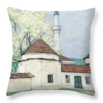 Innsbruck Mostar In The Spring Throw Pillow