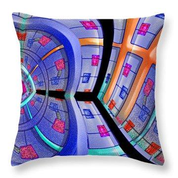 Inroads Throw Pillow by Paul Wear