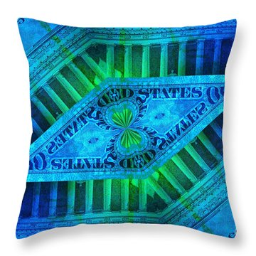 Insanity Throw Pillow by Chad and Stacey Hall
