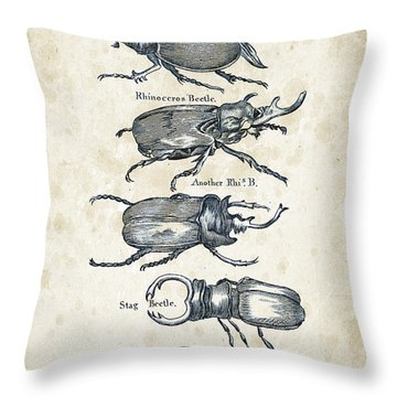 Insects - 1792 - 01 Throw Pillow