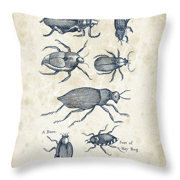 Insects - 1792 - 02 Throw Pillow