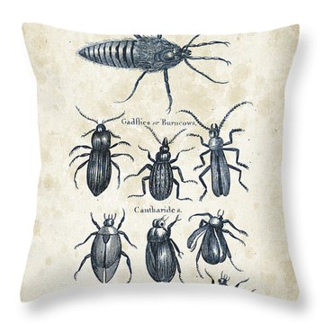 Insects - 1792 - 04 Throw Pillow