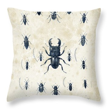 Insects - 1832 - 06 Throw Pillow
