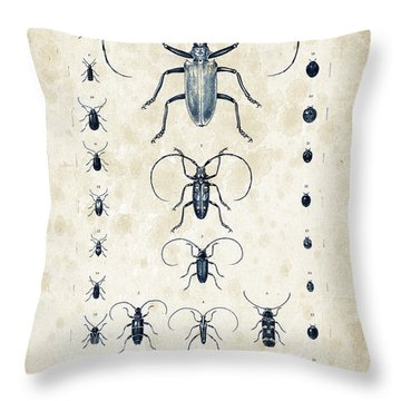 Insects - 1832 - 08 Throw Pillow